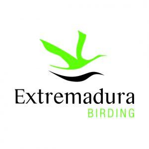 Birding in Extremadura Logotipo preferente - alta - cmyk