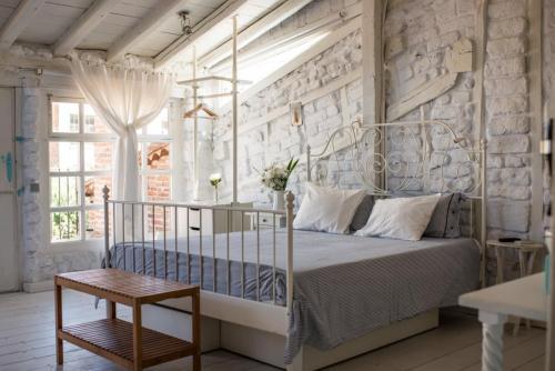 Habitación nº 4 detalle de la cama