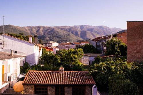 Vistas a la sierra de Gredos